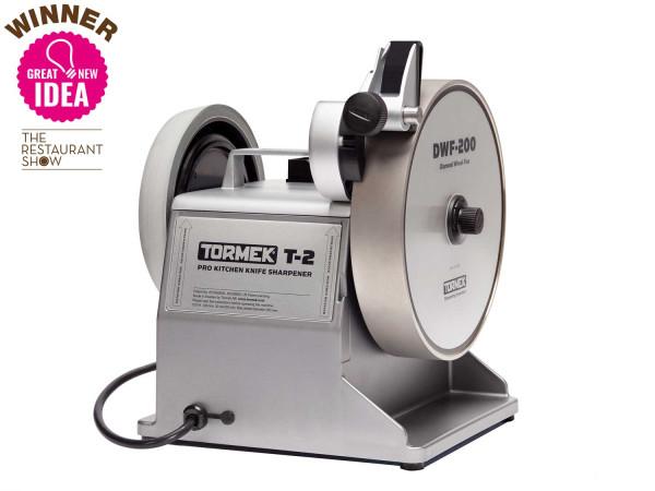 Tormek® T-2 Pro Kitchen Messerschärfer mit Diamantschleifscheibe für die professionelle Küche